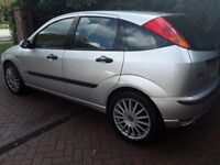 Ford focus, silver 1.6