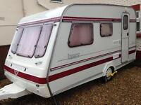 CARAVAN Touring BESPOKE COMPASS IMAGE 1995 390/4 BERTH WITH FULL AWNING & ANNEX TO SLEEP UPTO 5/6
