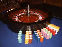 Roulette Wheel straight side for stacking chips against. Fits full size casino wheel.