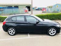 BMW 1 SERIES ED PLUS BLACK 2016, 22000 MILES, SAT NAV