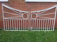 Garden Gates, Wrought Iron