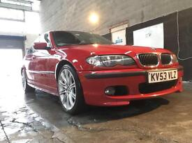 2003 Bmw 325i M Sport Automatic Facelift Model Imola Red Low Miles