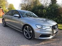 AUDI A6 S LINE BLACK EDITION TDI CVT IMMACULATE CONDITION THROUGHOUT FABULOUS DRIVE