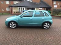 2004 54 VAUXHALL CORSA 1.4 SRI TWINPORT GREEN 5 DOOR