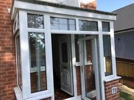 Porch & windows