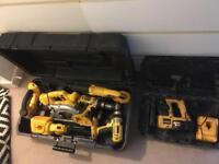 Dewalt 18v Power Tools Set