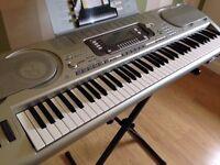 Casio WK-3700 76-Key Portable Electric Piano Keyboard 76 touch sensitive keys