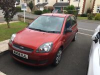Ford Fiesta, Red Style Climate (1.25 petrol) 5 Door Hatchback
