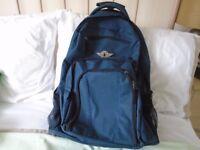 Travel Buddy wheel-along backpack