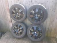 Set ford 5 stud alloys 16 inch