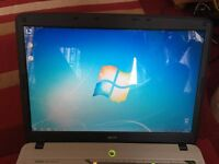 Acer Aspire,Laptop with big screen 17.1inch,in great condition,ready to go