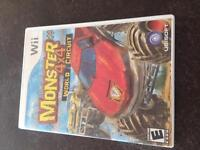 Wii game. Monster 4x4 World Circuit