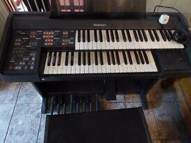electric organ Technics PCM SOUND EX20L