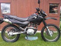 Honda Xr 125 learner legal enduro motorbike