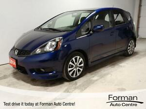 2014 Honda Fit Sport - Bluetooth | Alloy Wheels | One owner!
