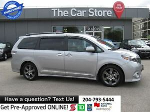 2015 Toyota Sienna SE 8 seats USB, HTD LEATHR SEATS, BLUETOOTH,