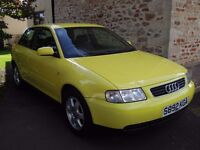 Audi A3 1.9 tdi Sport - 2 owners, exceptional condition, complete history and rare specification
