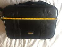 Small hand luggage suitcase