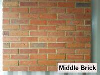 Brick slips wall tiles, cladding