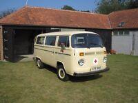 1976 VW Camper Van/Micro Bus Tin Top LHD T2 bay