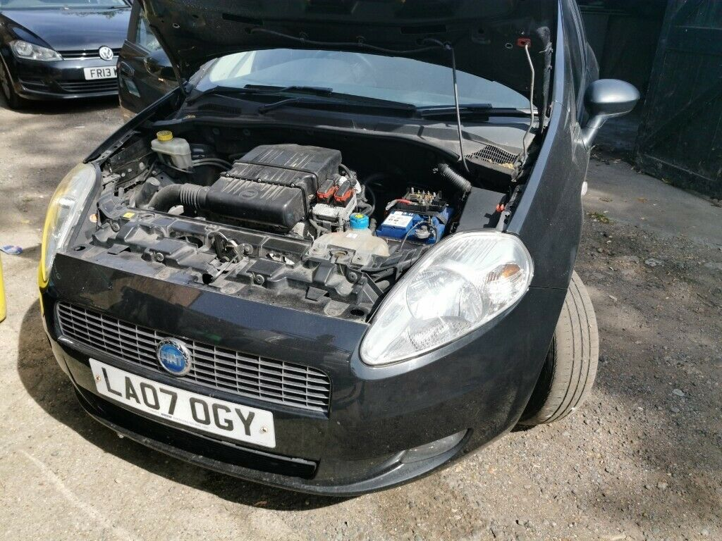 Fiat Grande Punto 1 4 8v dualogic spares or repair good condition | in  Palmers Green, London | Gumtree