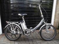 Electric folding bike for sale – Church Village area