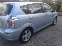 Toyota corrolla verso, 2.2 t3s turbo diesel, 56 plate , ac and 1 owner from new £2650 quick sale