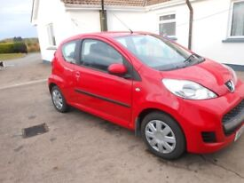 2012 peugeot 107 urban for sale