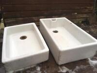 2 x Belfast Sinks £50