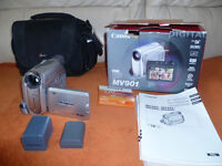cannon mv 901 digital camcorder £35 now sold.