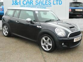 MINI CLUBMAN 1.6 COOPER S 5d 172 BHP A GREAT EXAMPLE INSIDE AND (black) 2008