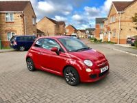 2014 FIAT 500 S 1.2 LITRE, MILEAGE 29000, ONE OWNER CAR, LEATHER, MOT 12 MONTHS