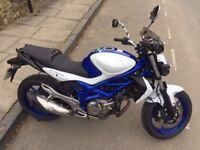 Suzuki Gladius 650cc Motorcycle ABS