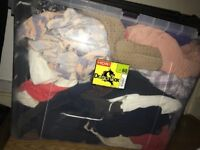 Bundle of new clothes