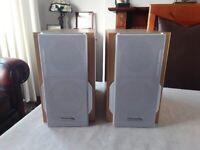 Panasonic Audio Bookshelf Speakers. Model SB-PM37. Excellent.
