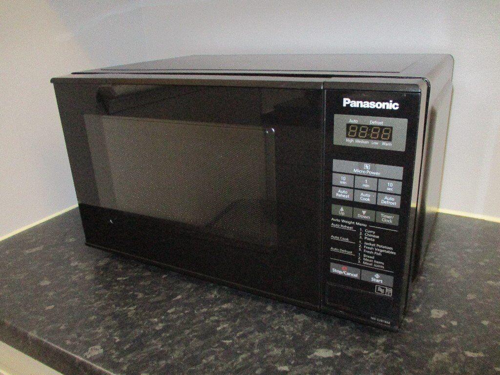 Panasonic Nn E281b Black Microwave 800watt