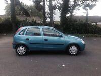 2002 Vauxhall Corsa 1.2 5door hatcback