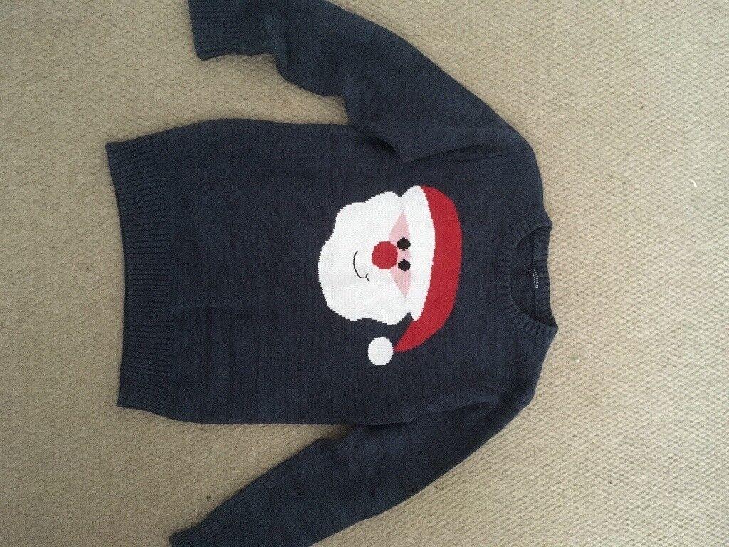 Boys Next Santa Christmas Jumper Age 9