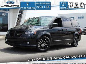 2017 Dodge Grand Caravan GT**7 PLACES*CUIR*GPS*CAMERA*BLUETOOTH*