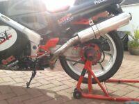 Motorbike servicing