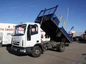 2012 Iveco Eurocargo 75E14 drop side tipper, Very clean truck