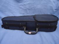 As-New Violin case for 1/16th size violin.