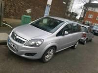 2014 Vauxhall zafira 1.8 petrol, very low mileage 7,000miles