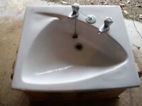 Pair of washhand basins