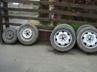 Wheels / Tyres for VW T4 T5 or other see tyre sizes