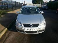 2009 VOLKSWAGEN POLO MATCH 1.2L SILVER 3DR MANUAL *ONLY 10K MILES* *FSH* *MINT*