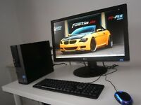 DELL OPTIPLEX 390 --- i3---TOWER+24 INCH MONITOR SET UP