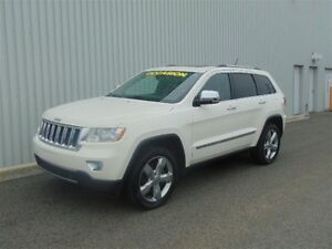 2012 Jeep Grand Cherokee OVERLAND ** GPS + CUIR BRUN + TOIT PANO