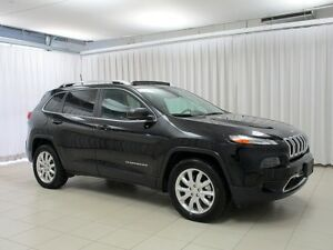2017 Jeep Cherokee HURRY!! DON'T MISS OUT!! LIMITED 4X4 SUV w/ H