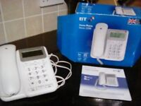 BT TELEPHONE. Desk phone Decor 2200. hardly use as new in box. used for conference calls